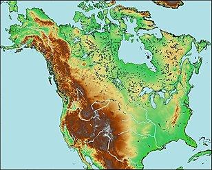 Quiz of rivers, North America, Cactus2000