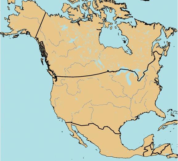 Carte Amerique Du Sud Quiz.Villes En Amerique Du Nord Cactus2000 Quiz